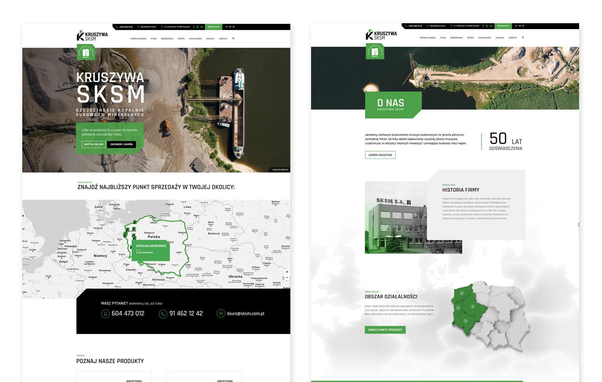 strona www kopalnie kruszyw polska